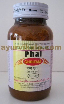 Nagarjun PHAL Ghritam, 100gm, for Post Pregnancy Complication