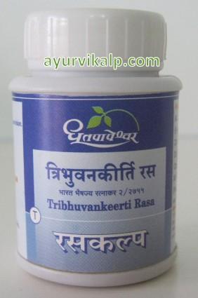 Dhootapapeshwar Tribhuvan keerti rasa 50 Tablets