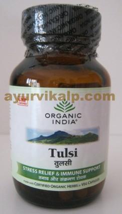Organic India TULSI, TULASI, 60 Capsules, Stress Relief & Immune Support