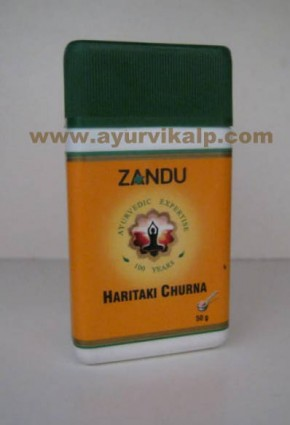 Zandu, HARITAKI CHURNA (Powder), 50g Useful In Carminative & Laxative