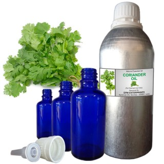 CORIANDER Essential Oil, 100% Pure & Natural - 10 ML To 100 ML Therapeutic & Undiluted
