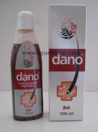DANO Anti Dandruff Treatment Oil, 100ml, Clinically Proven