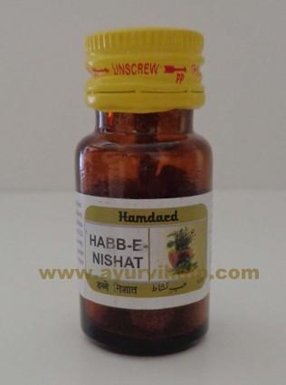 Hamdard, HABB-E-NISHAT, 16 Tablets, Erectile Dysfunction, Sphesmatorrhoaea