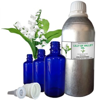 lily of the valley essential oil, 100% Pure & Natural - 10 ML To 100 ML Therapeutic & Undiluted