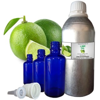 LIME Essential Oil, 100% Pure & Natural - 10 ML To 100 ML Therapeutic & Undiluted