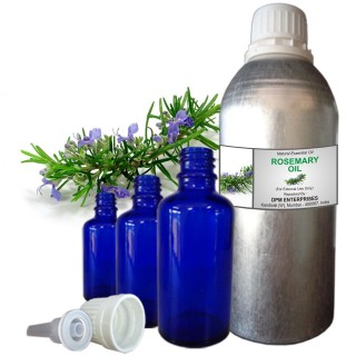 Rosemary Essential Oil, 100% Pure & Natural - 10 ML To 100 ML Therapeutic & Undiluted