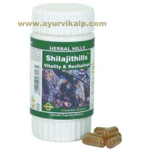 Herbal Hills, SHILAJITHILLS Capsules, Vitality & Revitaliser