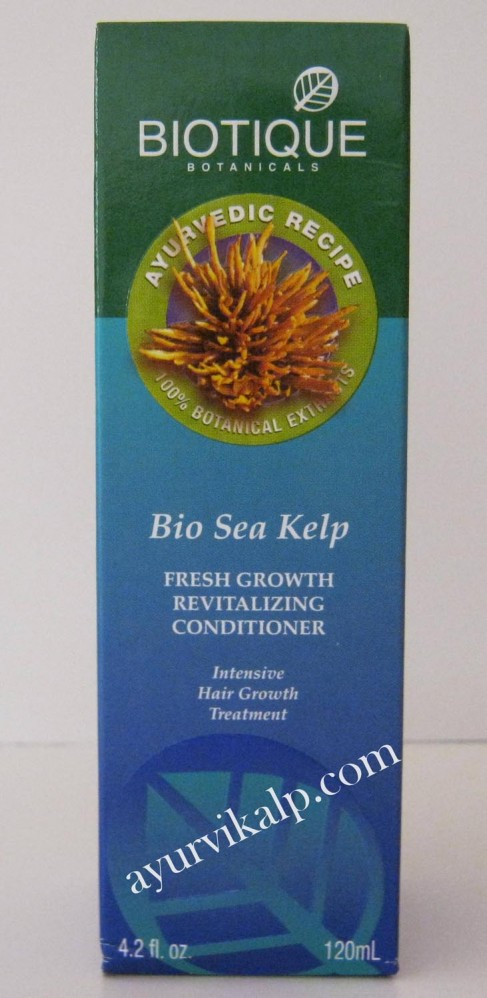 biotique sea kelp fresh growth conditioner 120ml 42 floz