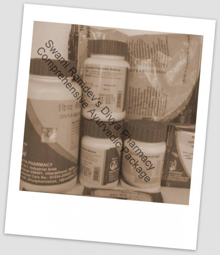 Divya Pharmacy Ayurvedic Package For Chronic Renal Failure