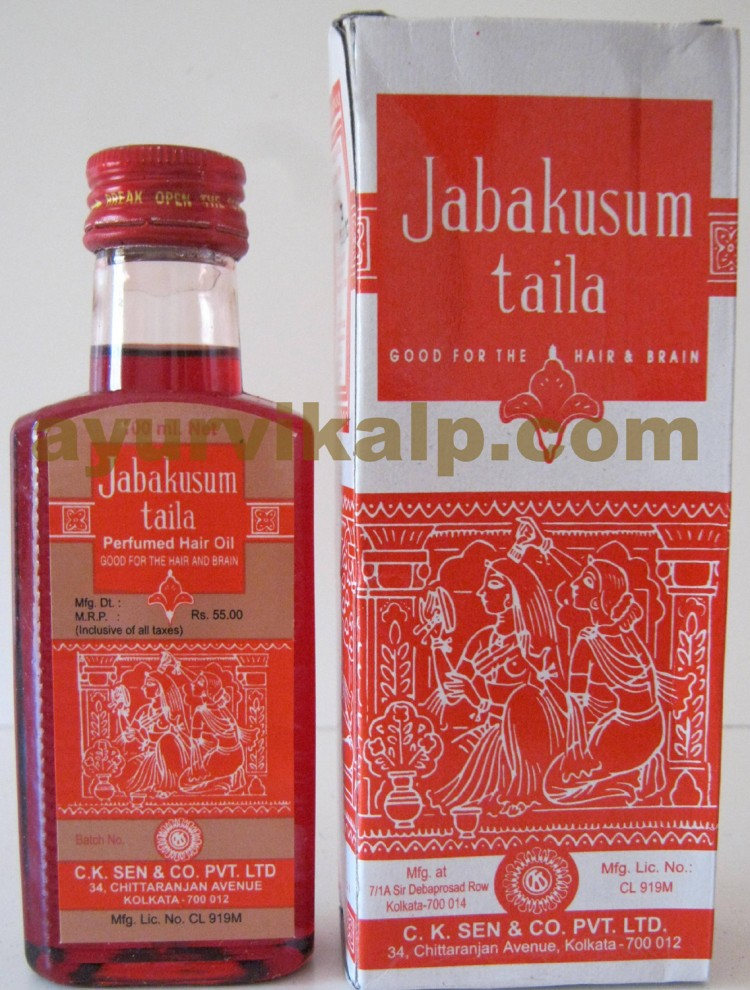 C K Sen Jabakusum Taila Good For The Hair Amp Brain