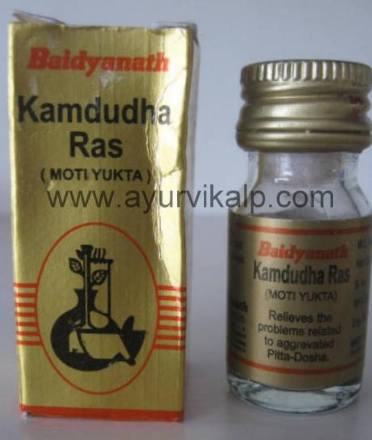 Baidyanath KAMDUDHA Ras (Ayurved Sar Sangraha), 25 Tablets, Hyperacidity