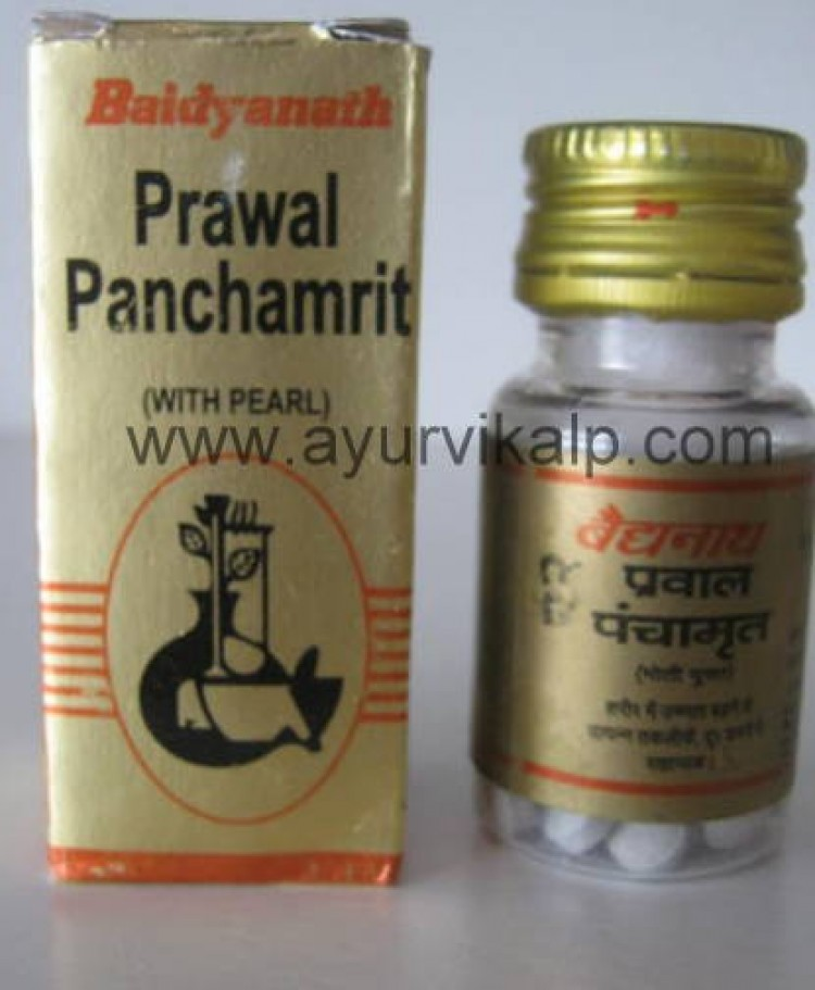 Baidyanath PRAWAL PANCHAMRIT (Yog Ratnakar), 25 Tablets