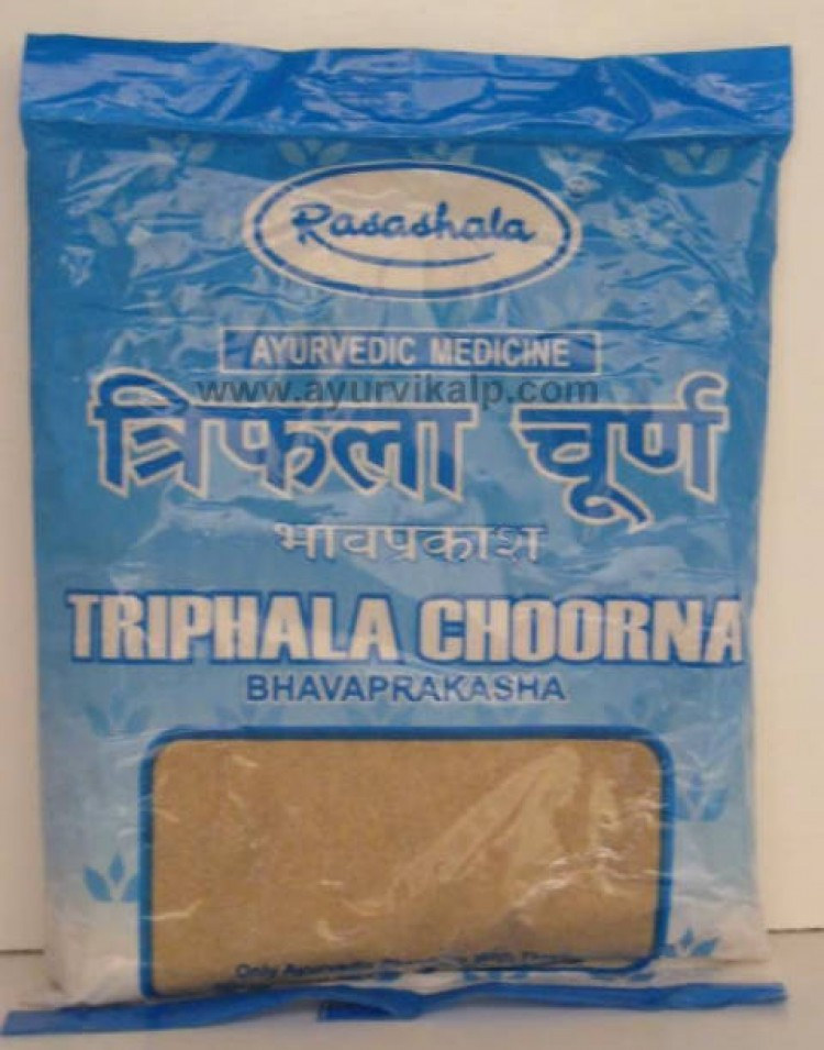 how to use triphala churna for eyes