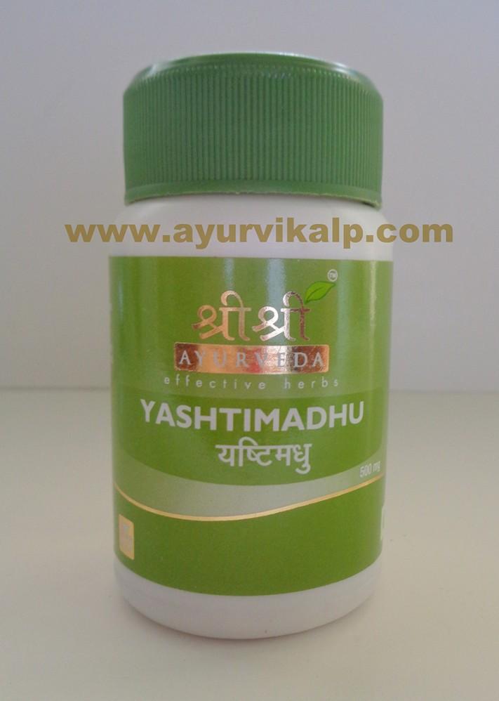 Sri Sri Ayurveda, YASHTIMADHU, 60 Tablets, Cough, Hyper-Acidity
