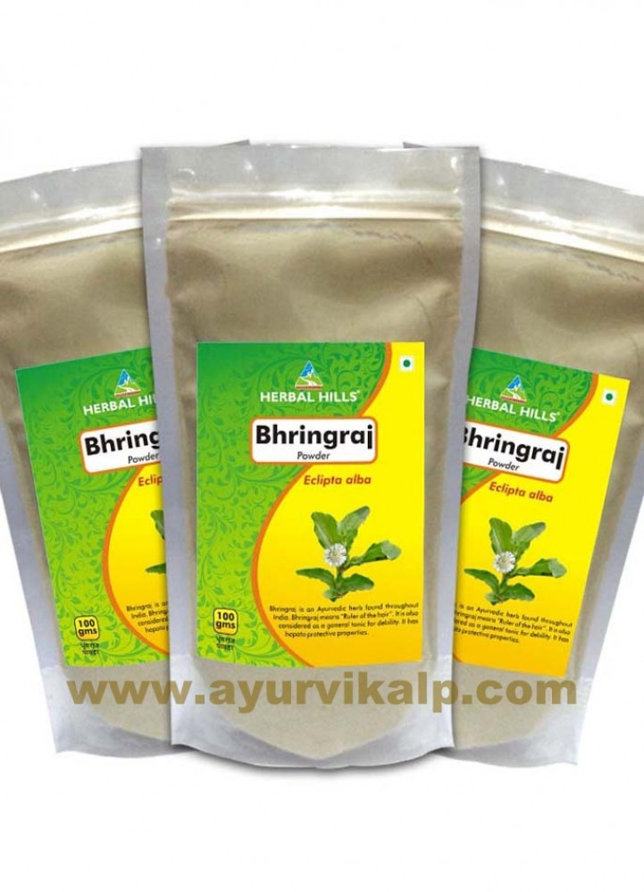 Herbal Hills, BHRINGRAJ Powder, Hair Growth, Premature Graying Hair
