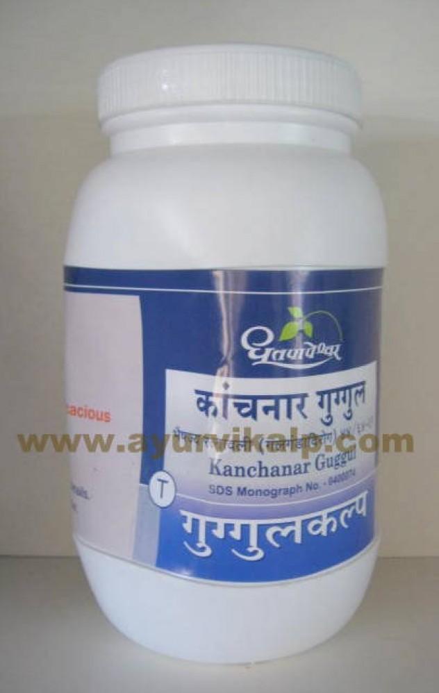 Dhootapapeshwar, KANCHANAR GUGGUL, 1000 Tablets, For Obesity, Piles