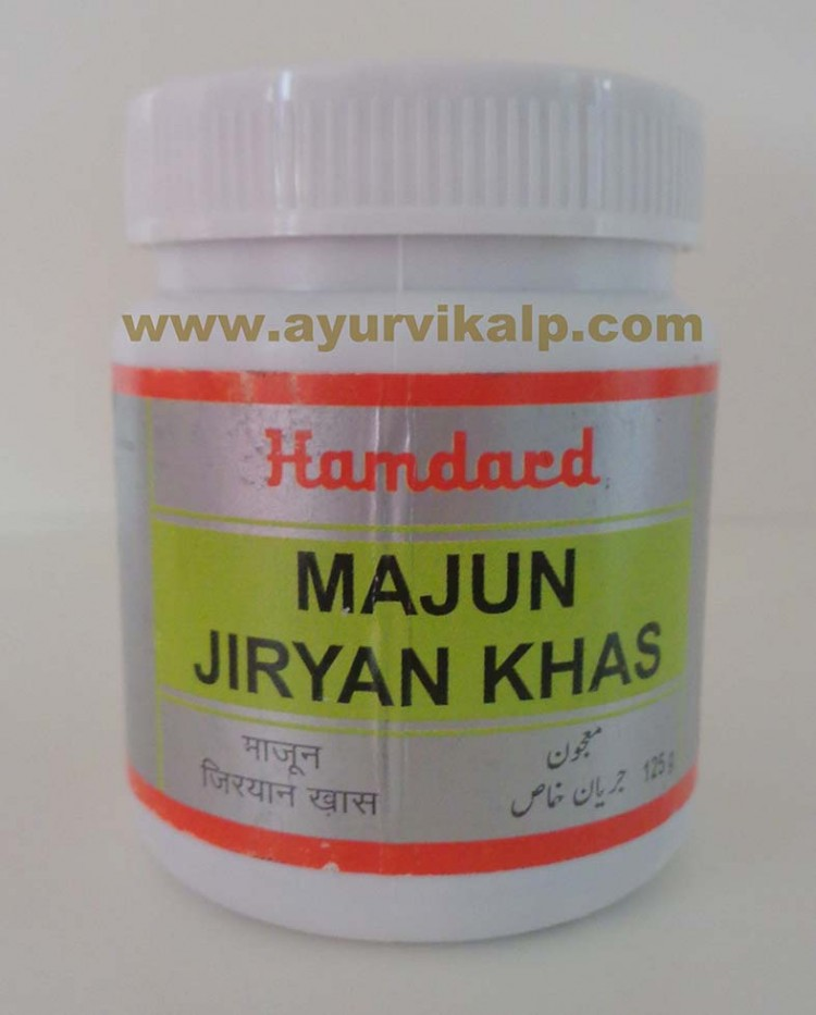 Hamdard, MAMJUN JIRYAN KHAS, 125g, Increases Density of Semen